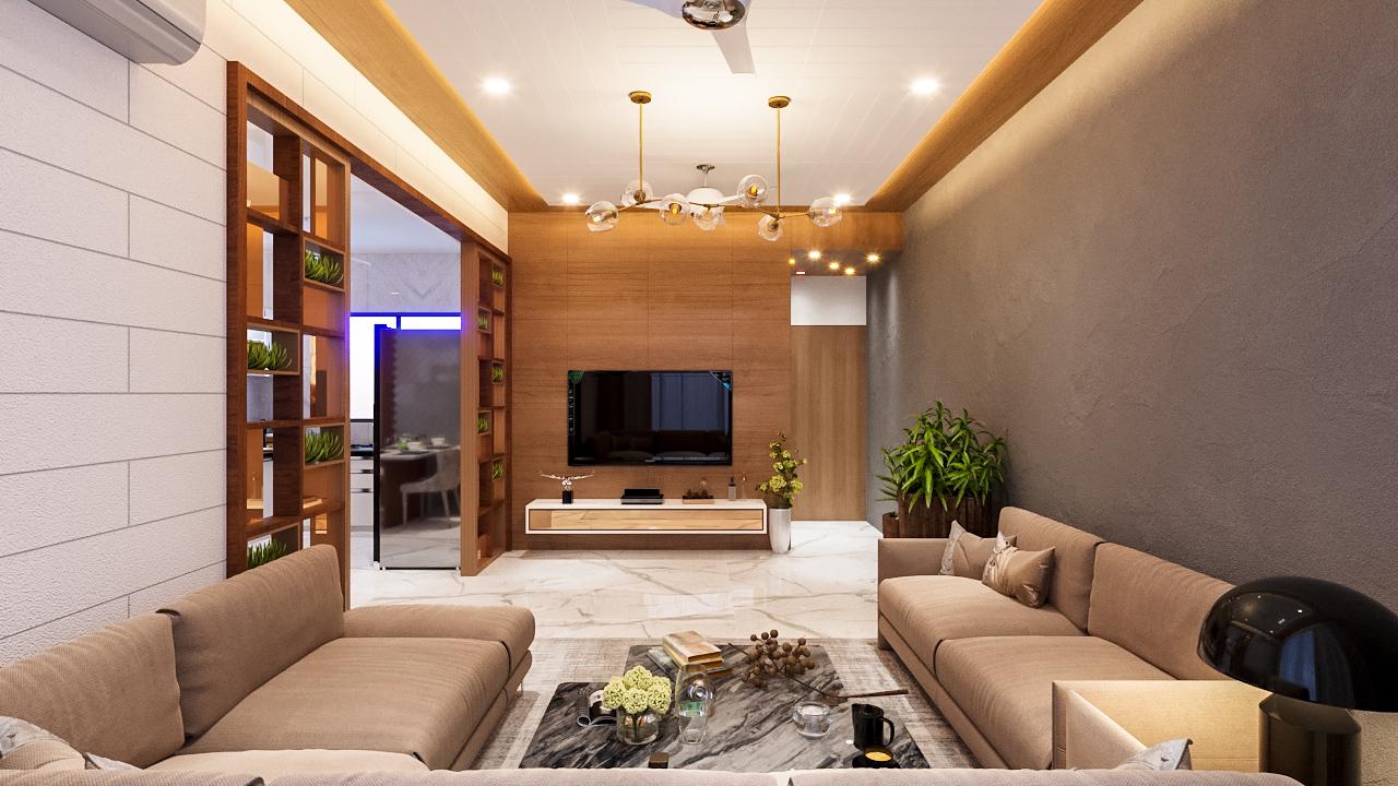 Ghanshyambhai sheta's flat Interior